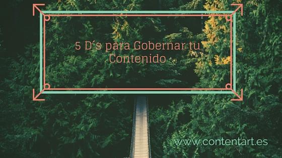 Sencillo plan de 5 puntos al alcance de todos los bolsillos para hacer una exitosa estrategia de contenido.