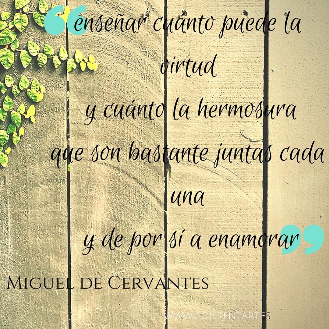 De Don Miguel de Cervantes para todos los maestros